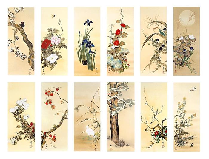 """ยลศิลป์ยินญี่ปุ่น """"ดอกไม้-นก-ลม-พระจันทร์"""" ความงามในทัศนคติญี่ปุ่น"""