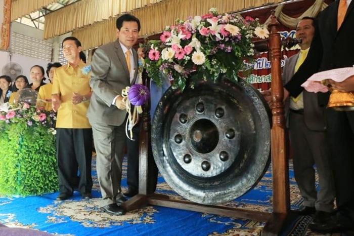 """""""สุเทพ"""" เปิดการแข่งขันกิจกรรมภาษาไทย"""