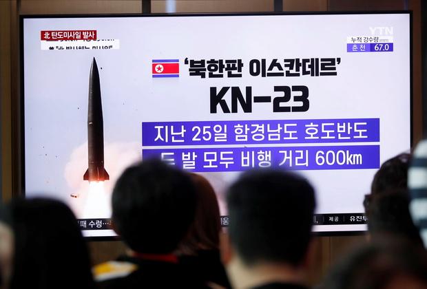 เกาหลีเหนือยิงขีปนาวุธอีก2ลูก หวังบีบโซล-มะกันล้มแผนซ้อมรบ