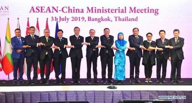 จีน-อาเซียนคืบหน้าก้าวใหญ่ในการจัดทำประมวลแนวการปฏิบัติ (COC) ทะเลจีนใต้