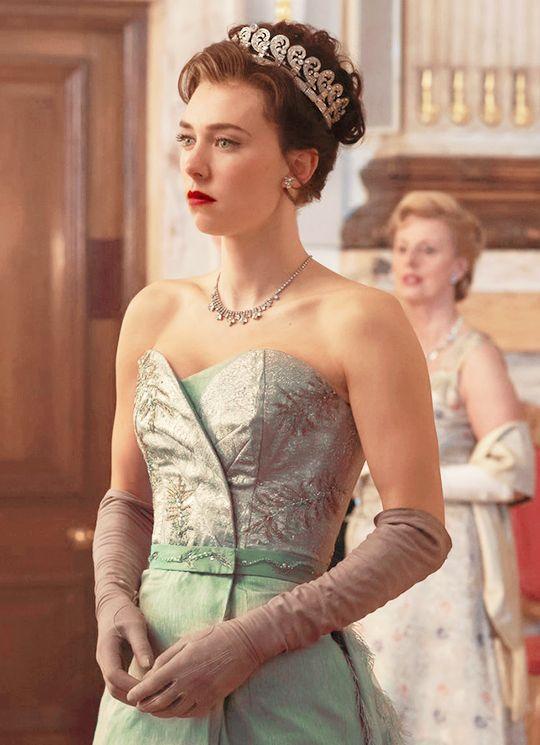 เคอร์บี้ในบทบาท 'เจ้าหญิงมาร์กาเร็ต' จากซีรีย์ The Crown