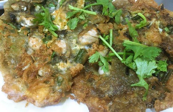 ออหลัวะ/หอยนางรมทอด ขอบคุณภาพจาก http://www.mafengwo.cn/photo/poi/11948010_256443844.html
