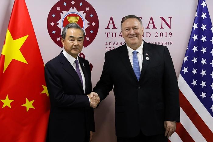 สหรัฐฯโวไม่บีบอาเซียนเลือกข้าง  หลังจีนเตือน'คนนอก'ยุให้เอเชียแตกแยก