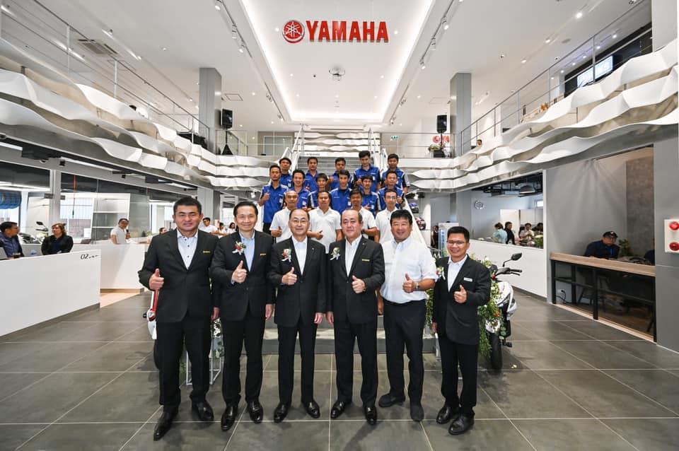 """ยามาฮ่ายึดไทยต้นแบบ ทุ่ม 70 ล้าน เปิดตัว """"พรีเมียม เซอร์วิส"""" แห่งแรกของโลก"""