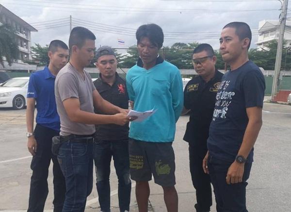 ป.ตามรวบหนุ่มกำแพงเพชร หนีคดีค้ายาเสพติด พยายามฆ่ากบดานนนทบุรี