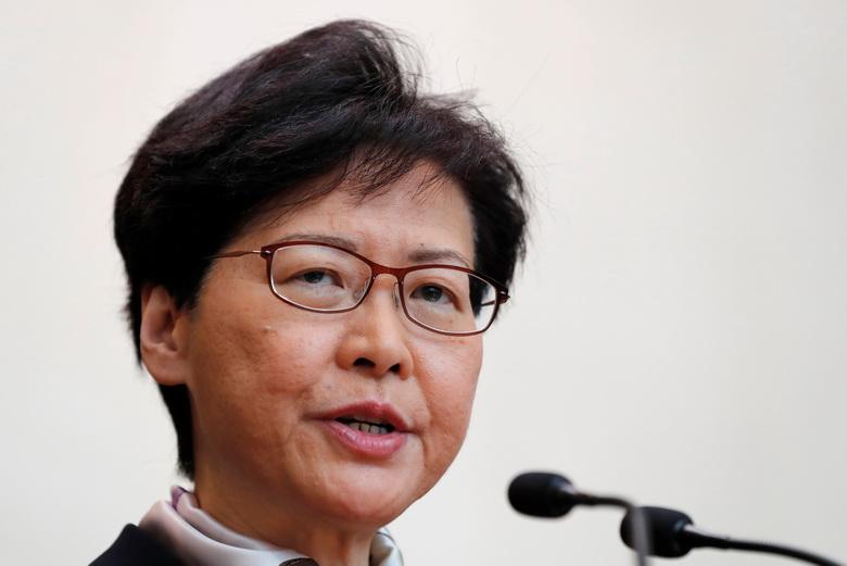 ผู้ว่าฯ ฮ่องกงประณามม็อบ 'ท้าทายอธิปไตย' ของจีน-บ่อนทำลายบ้านเมือง