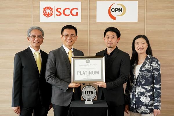 """ศูนย์อาหาร """"foodwOrld"""" ที่เซ็นทรัลเวิลด์ คว้า LEED Platinum หมวด Commercial Interior Retail – Restaurant/Cafeteria รายแรกของเอเชีย"""