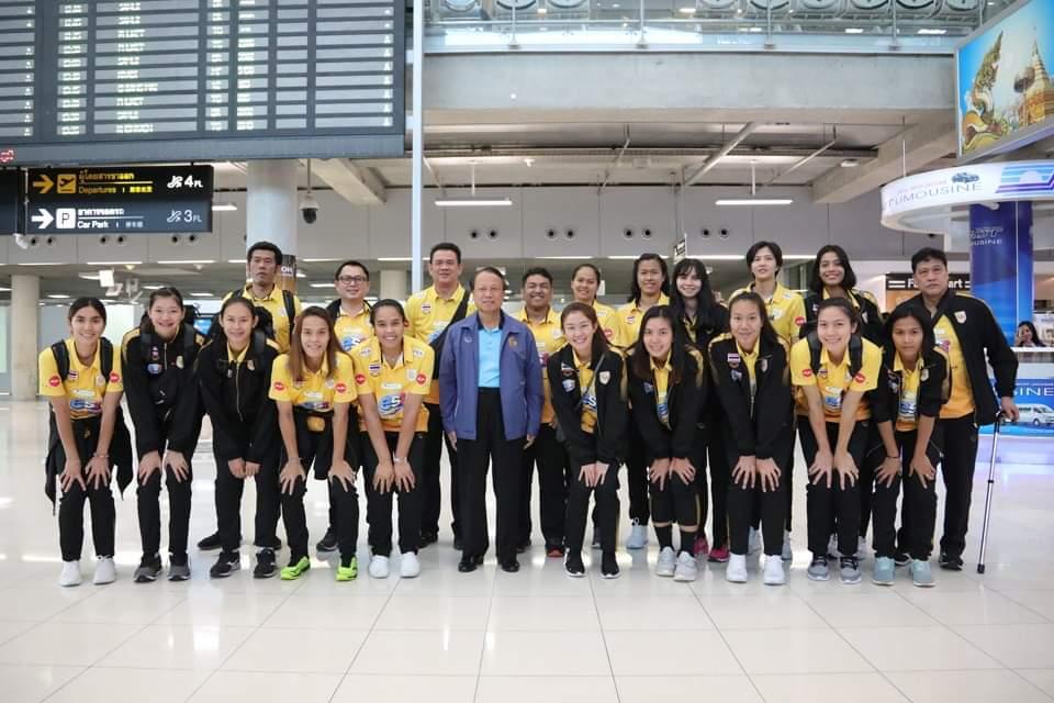 ลูกยางสาว กลับถึงไทย! เตรียมลุยต่อชิงแชมป์เอเชีย