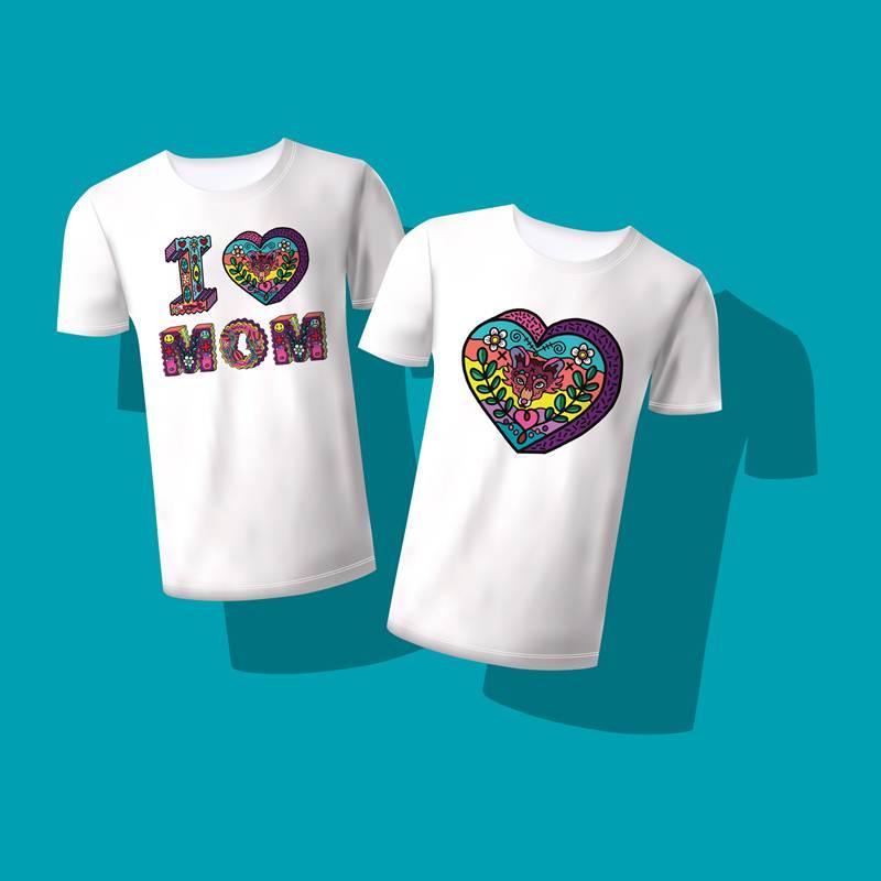 ผลงานออกแบบตัวอักษรบอกรักแม่ โดยชาญณรงค์ ขลุกเอียด