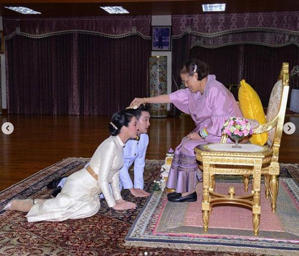 """มงคลชีวิต """"บี มาติกา"""" โพสต์ภาพสมเด็จพระกนิษฐาธิราชเจ้าฯ ทรงประกอบพิธีสมรสพระราชทาน"""
