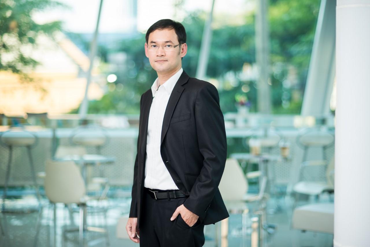 นายสุทธิสิทธิ์ แจ่มดี รองกรรมการผู้จัดการ ฝ่ายพัฒนาผลิตภัณฑ์ธุรกิจหลักทรัพย์ บมจ.หลักทรัพย์กสิกรไทย