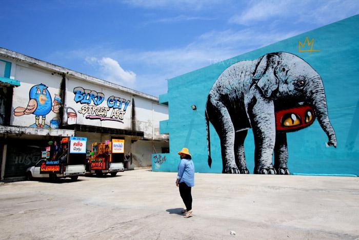Bird City Street Art สตรีทอาร์ตเมืองยะลา