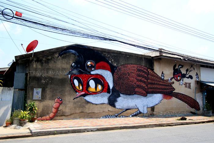 Bird City Street Art