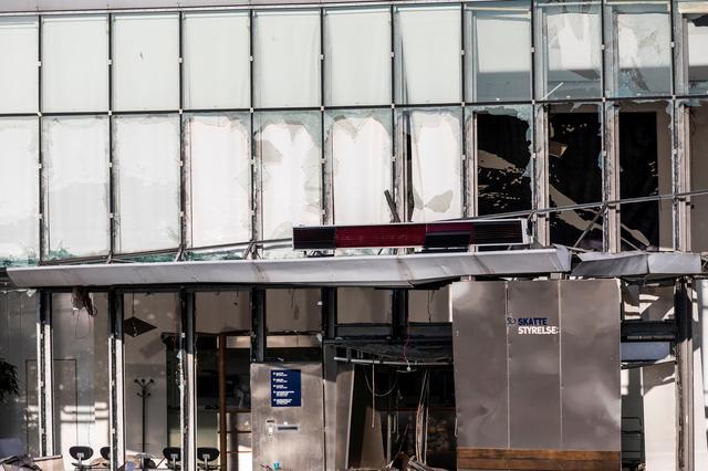 เกิดเหตุระเบิดด้านนอกสำนักงานสรรพากรเดนมาร์ก บาดเจ็บ 1 ราย
