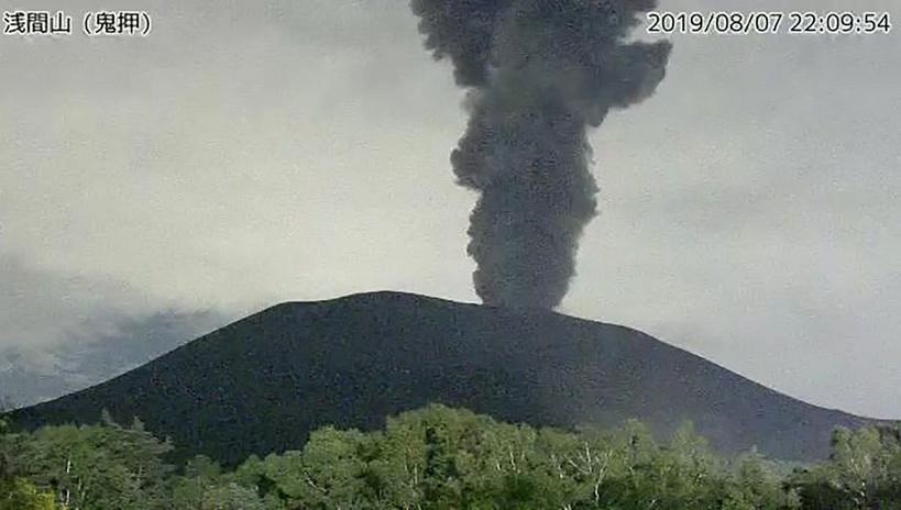 ญี่ปุ่นยกระดับเตือนภัย 'ภูเขาไฟอาซามะ' ใกล้โตเกียว หลังปะทุครั้งแรกในรอบ 4 ปี