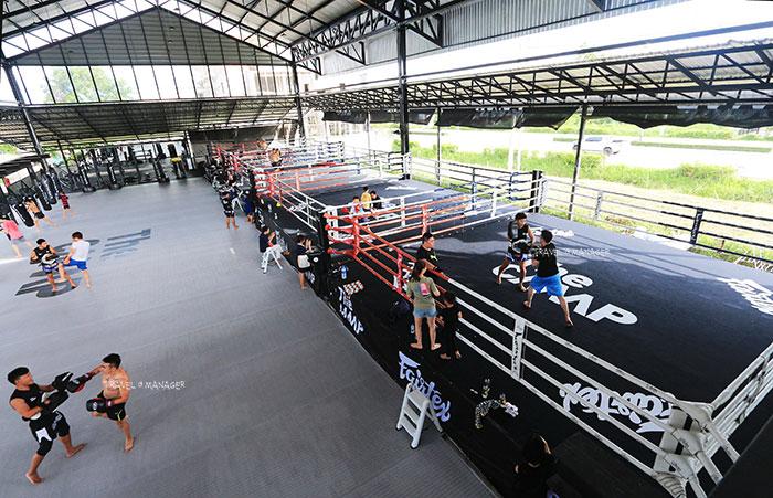 The Camp Muay Thai Resort and Academy ค่ายยิมมวยไทยที่ใหญ่ที่สุดในภาคเหนือ