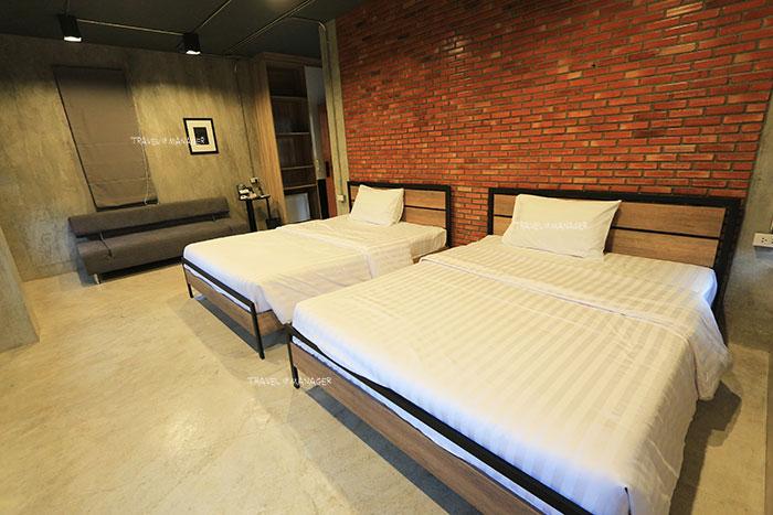 The Camp Muay Thai Resort and Academy มีห้องพักให้บริการด้วย
