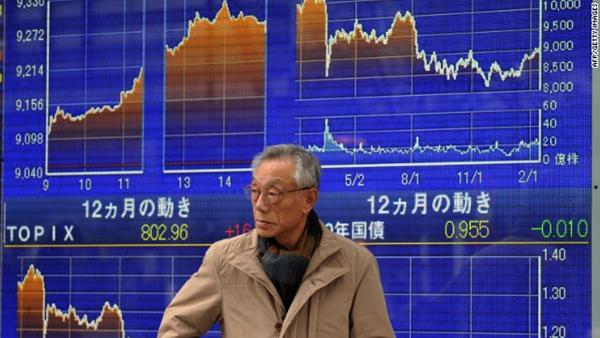 ตลาดหุ้นเอเชียปรับตัวขึ้น ขานรับดาวโจนส์พุ่งกว่า 300 จุด
