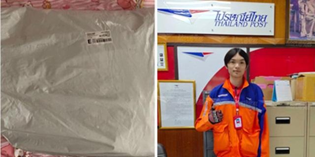 ใส่ใจทุกชิ้น! บุรุษไปรษณีย์ธัญบุรี นำจ่ายทั้งที่ไม่มีชื่อจ่าหน้าซอง ลูกค้าโพสต์ซึ้งใจ