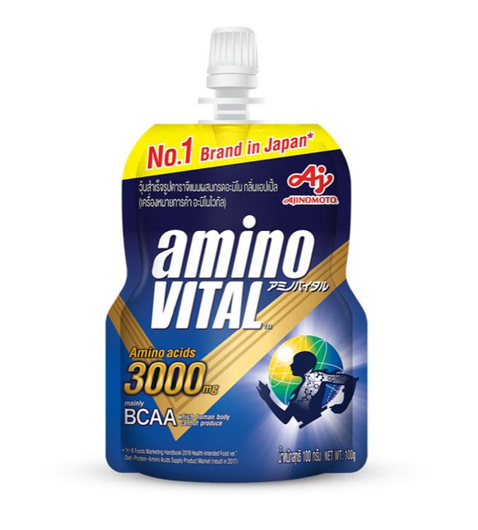 """อายิโนะโมะโต๊ะ เปิดตัว """"aminoVITAL"""" ผลิตภัณฑ์ด้านกรดอะมิโนสำหรับนักกีฬาและผู้ชื่นชอบการออกกำลังกาย"""