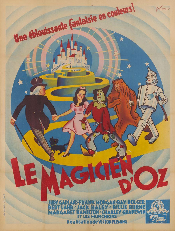 โปสเตอร์พ่อมอแห่งออซ  ปี 1939 ผลิตในฝรั่งเศส  ประเมินราคาประมูลสูงสุด 12,000 ปอนด์ หรือราว 4.4 แสนบาท