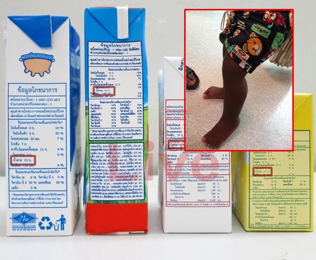 เตือนผู้ปกครอง! ไม่ควรให้ลูกน้อยกินนมกล่องมากเกินไป แนะ ควรกินอาหารหลักครบ 3 มื้อดีที่สุด (ชมคลิป)