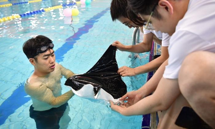 นักวิจัยจีนกำลังพัฒนา'หุ่นยนต์ปลากระเบนปีศาจ'