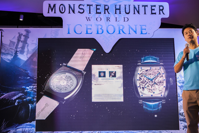 """ไซคอมจัดงาน """"Monster Hunter World Ice Borne Party"""" นักล่าร่วมงานล้นทะลัก!"""