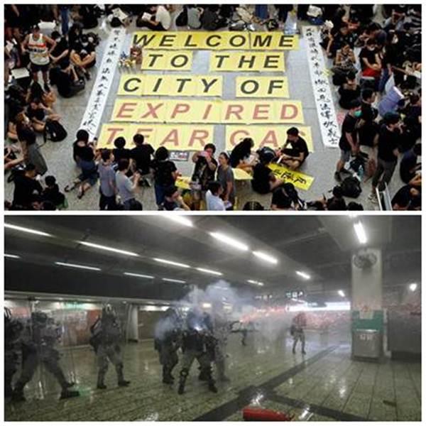 """ประท้วงในฮ่องกงกลายเป็น """"ศึกแมวไล่จับหนู"""" จีนบีบหนักมาถึงบ.ยักษ์ใหญ่"""