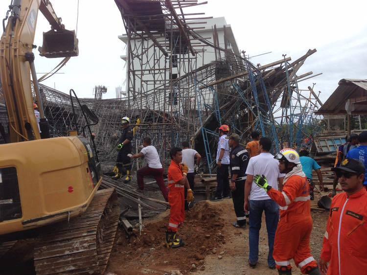 ประกันสังคม เร่งช่วยสิทธิชดเชย 11 คนงานพม่าเจ็บตายเหตุนั่งร้านถล่มที่ภูเก็ต