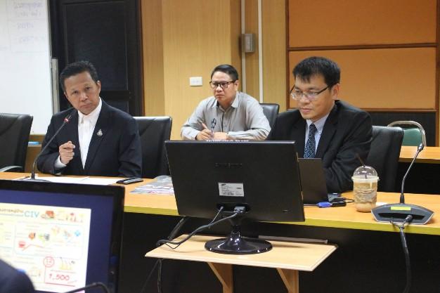 สทบ. ร่วมกับ กรมส่งเสริมอุตสาหกรรมและสมาคมสัมพันธ์เศรษฐกิจไทย-จีน ร่วมประชุมหารือเพื่อหาแนวทางการบูรณาการเพื่อการยกระดับเศรษฐกิจฐานรากตามแนวทางประชารัฐ