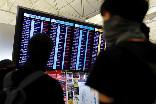 ม็อบบุกสนามบินฮ่องกงทำป่วนทั่วเอเชีย การบินไทยวกกลับน้ำมันหมดต้องลงจอดที่อุบลฯ