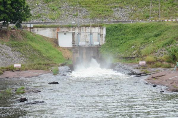 เขื่อนลำปาวประกาศปรับลดการส่งน้ำเพื่อการเกษตร หลังมีน้ำเข้าอ่างน้อย-วอนใช้ประหยัด