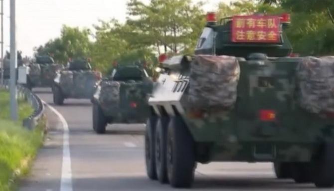 ข่าวกรองสหรัฐฯยันพบจีนเคลื่อนทหารประชิดชายแดนฮ่องกง ทรัมป์หวังไม่มีคนตาย