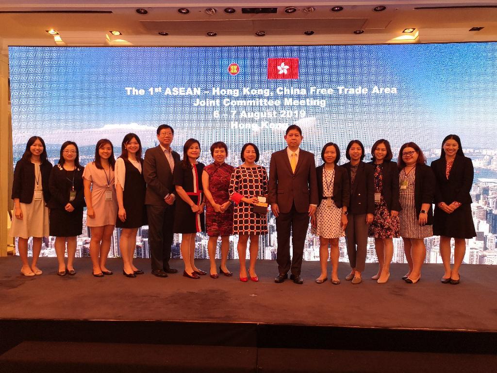 อาเซียน-ฮ่องกงตกลงตั้งคณะกรรมการร่วม ทำหน้าที่ขับเคลื่อน FTA และความตกลงด้านการลงทุน