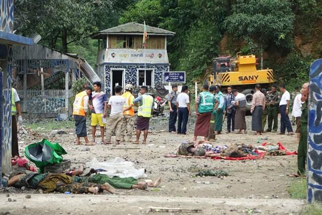 กลุ่มกบฎชาติพันธุ์ในพม่าเปิดฉากถล่มเมืองพินอูลวิน ทหาร-พลเรือนดับอย่างน้อย 14 ศพ