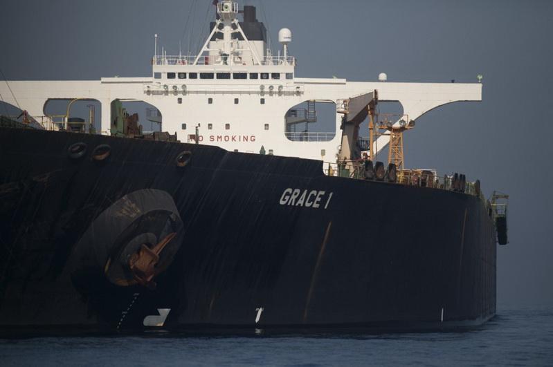 สหรัฐฯ ออกหมายยึด 'เรือบรรทุกน้ำมันอิหร่าน' หลังศาลยิบรอลตาร์ถอนคำสั่งอายัด