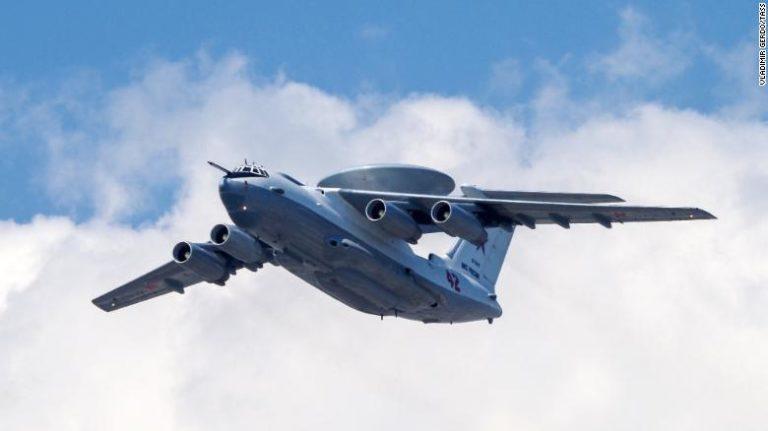 <i> (ภาพจากแฟ้ม) เครื่องบิน เอ-50 ของรัสเซีย </i>