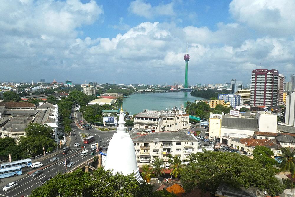 โคลัมโบ เมืองหลวงของศรีลังกา