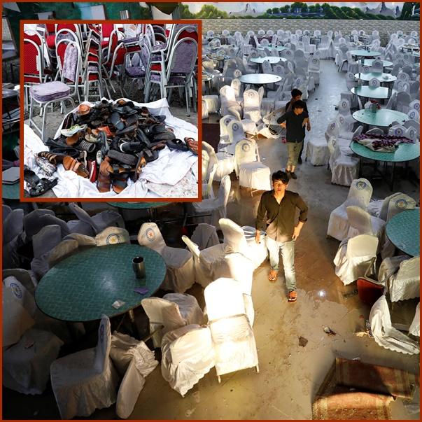 InPics&Clip: ระเบิดครั้งร้ายแรงโจมตีงานแต่งสุดหรูกรุงคาบูล ยอดดับพุ่ง 63 รบาดเจ็บ 182 ตอลิบานปฎิเสธรับผิดชอบ