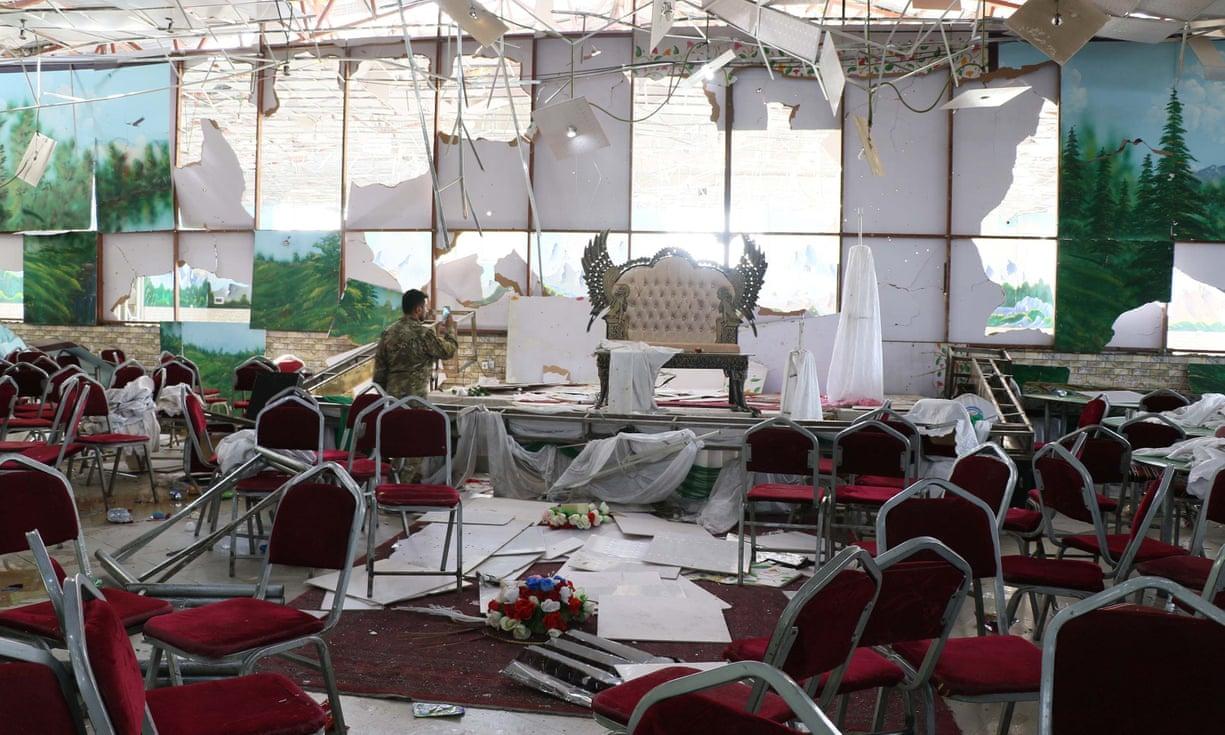 บึ้มสยองงานแต่งคาบูลตายเกลื่อน 63 ศพ เจ็บเฉียด 200 คน ตอลีบานยันไม่ได้ลงมือ