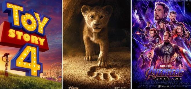 """Disney มีหนัง """"พันล้าน"""" 5 เรื่องในปีนี้ ส่วนอีก 4 สตูดิโอใหญ่จ๋อย ผลงานทำเงินแพ้กระทั่งหนังจีน"""
