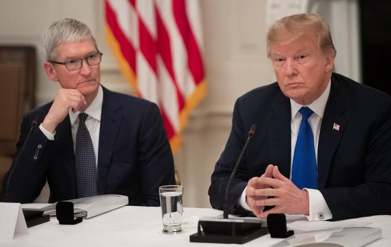 'ทิม คุก' เตือนสหรัฐฯ รีดภาษีจีนจะทำให้ 'แอปเปิล' เสียเปรียบ 'ซัมซุง'