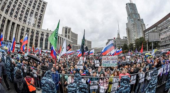 กะปอมรัสเซียที่เอาเรื่องไม่น้อยกว่าฮ่องกง