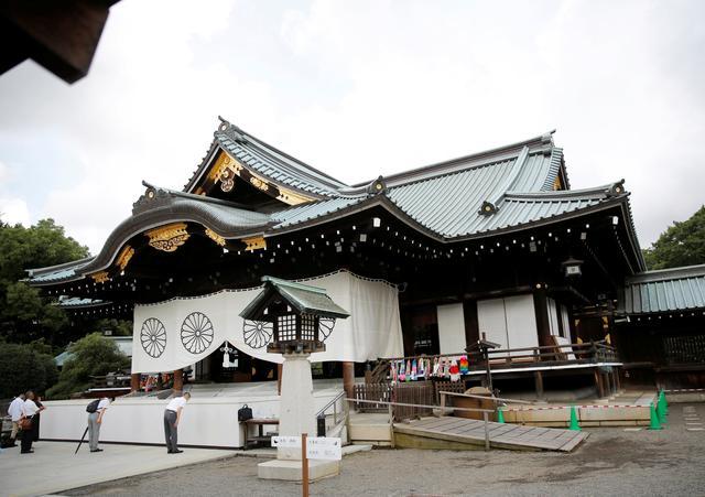ญี่ปุ่นรวบหนุ่มจีนขว้างหมึกใส่ผ้าม่านศาลเจ้ายาสุกุนิ