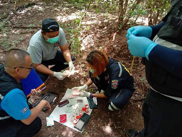 สาวใหญ่ชาวเมียนมาร์  ถูกคนร้ายกระหน่ำแทงหน้าเละหมกป่าข้างทาง