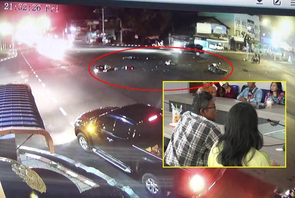 เพิ่มข้อหาหนัก! ครูบุรีรัมย์ซิ่งรถชนกวาด จยย.ติดไฟแดงไฟลุกท่วมตาย 1 เจ็บ 6 -โผล่ไกล่เกลี่ยญาติ