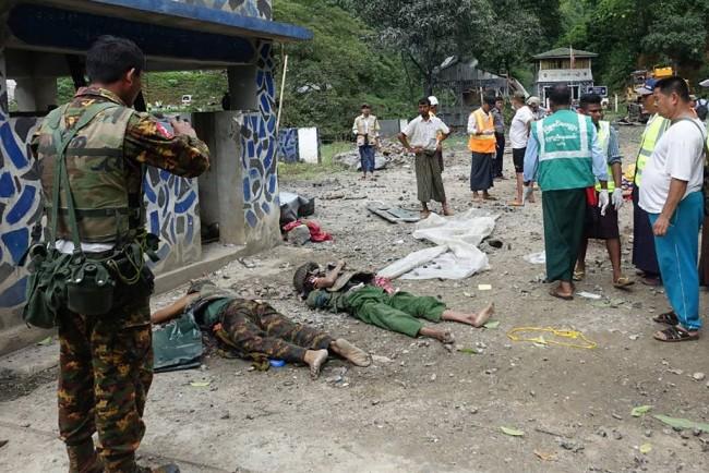 เหตุสู้รบในรัฐชานทำชาวพม่าพลัดถิ่นกว่า 2,000 คน เสียชีวิตแล้ว 19 ศพ