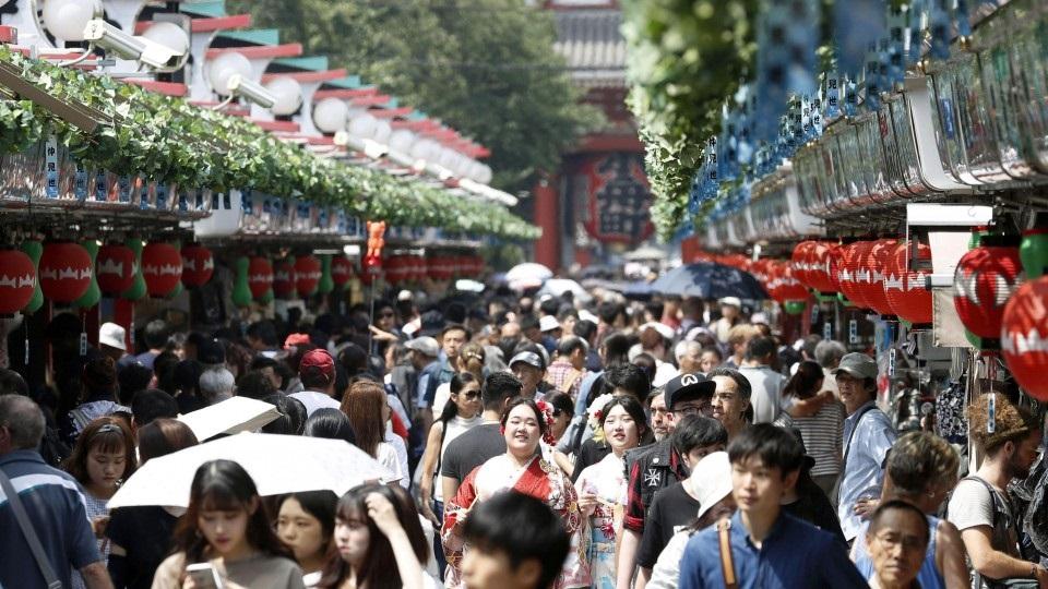 นักท่องเที่ยวเกาหลีใต้มาเยือนญี่ปุ่นต่ำสุดในรอบปี