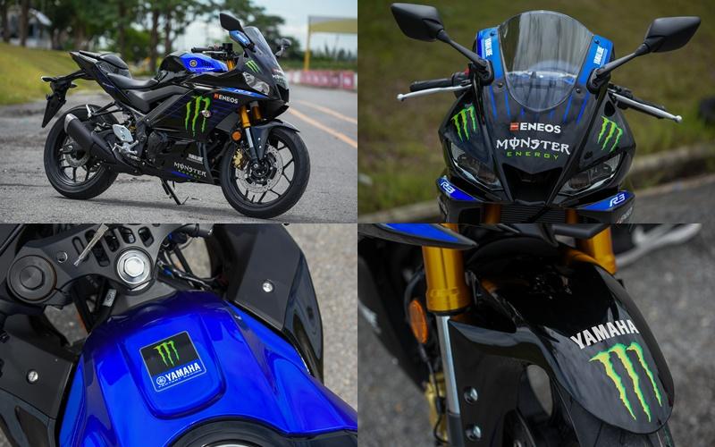 YZF-R3 Monster Energy Yamaha MotoGP Edition ราคา 199,500 บาท